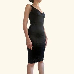 Body-Con Structured Midi-Dress